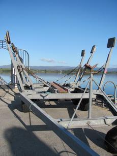 Galvanised Double Axle Boat Trailer