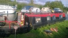 42ft harborough narrow boat project