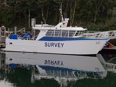 15.3M Survey Catamaran   Charter Boat
