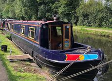 57ft 6 birth Trad narrowboat