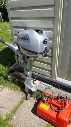 Honda 6hp outboard