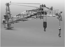 Liebherr BOS 2600 & 4200 Liptronic 20 & 40 Ton Luffing Cranes
