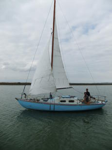 Price reduced for quick sale. Valmik 1961 Folkboat, recent survey