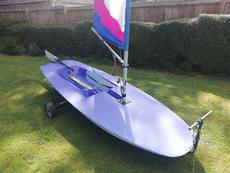 Topper sailing dinghy sn 43238 CM