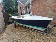 Laser 13 13630 sailing dinghy vgc