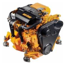 NEW - Vetus M2.13 12hp Marine Diesel Engine and ZF SD10 Saildrive Package
