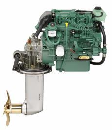 NEW Volvo Penta D2-40 39hp Marine Diesel Engine & 130S Saildrive Package
