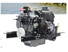 NEW Shire 50 Narrowboat engine & gearbox package