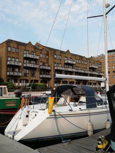 Catalina 42 sailing yacht , with London residential berth !!!
