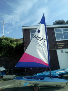 Topper dinghy 30827