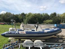 5.2m Rib-x Expert hull -75hp Evenrude