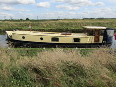Beautiful bespoke replica Dutch Barge