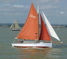"""26ft Essex Smack """"Alando"""" CK178"""