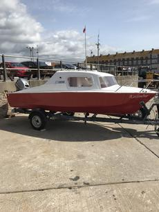 Microplas 16ft boat