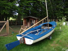 Mk1 Kestrel dinghy, Scotland