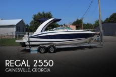 2011 Regal 2550