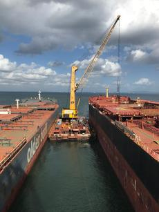2x Gottwald Floating Cranes for Sale
