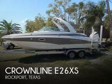 2018 Crownline E26XS