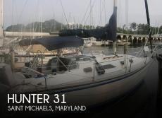 1984 Hunter 31