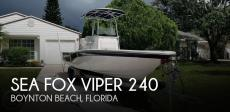 2013 Sea Fox Viper 240