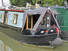 MAUDE 44ft 8in semi-trad narrowboat for sale with 4 berths