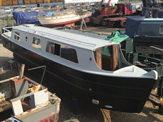 45' NARROWBOAT PROJECT - ALL STEEL