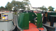 Nellie D - 45 foot semi traditional stern narrow boat