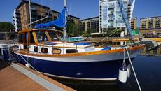 Beautiful Nauticat Pilot Sailing Yacht