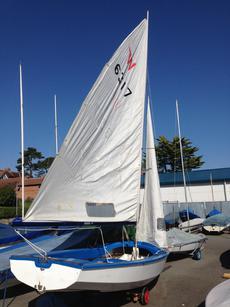 Wayfarer MK 2 sailing dinghy