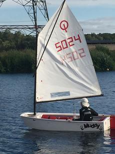 Ready to Sail Optimist