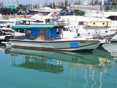 Boat in Lumut, Malaysia
