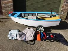 Blueblue Racing Optimist Dinghy- 2 Sails