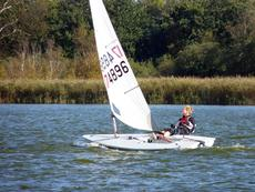 Race equipped Laser Radial and Std rigs