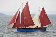 45ft. HISTORIC LOOE LUGGER - Charter Opportunity