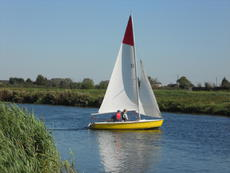 Wanderer Sailing Dinghy 923; Cambs