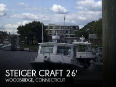 2012 Steiger Craft 26 DV Miami