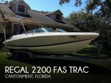2006 Regal 2200 Fas Trac