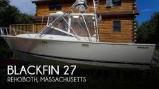 1987 Blackfin 27