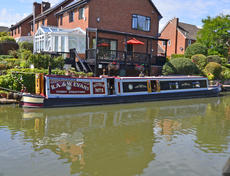 SCYTHIA 56ft 11in trad narrowboat for sale with 4 berths