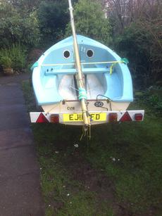 Gull 12 foot dinghy