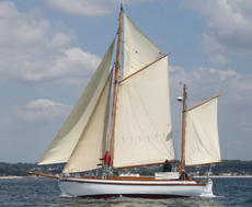 37 ft Colin Archer wooden gaff ketch