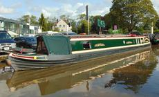 Lord Toulouse Immaculate 62ft Trad stern narrowboat
