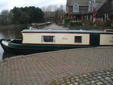 47 ft Ex hire Semi Trad Narrowboat Anne