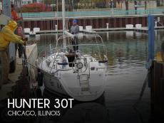 1993 Hunter 30T