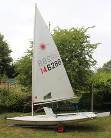 Laser dinghy - Sail no 146288