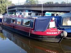 Under Offer George Henry 45ft cruiser stern built 1988 £29,995
