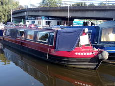George Henry 45ft cruiser stern built 1988 by David Peacock £29,995