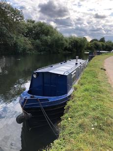 40' (12m) Narrow Boat.
