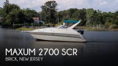 1995 Maxum 2700 SCR