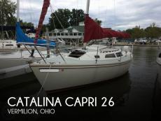 1991 Catalina Capri 26